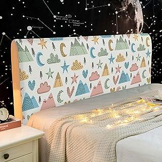 NHK-MX Funda de cabecero de Cama para Dormitorio Infantil Cubierta de la cabecera Lindo elástica Funda decoración de Dormitorio 120-220cm (Color : 14, Size : 180cm)
