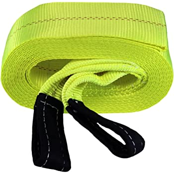 Keeper 02963 6 x 30 Vehicle Recovery Strap with Loops 60,000 lb Web Capacity