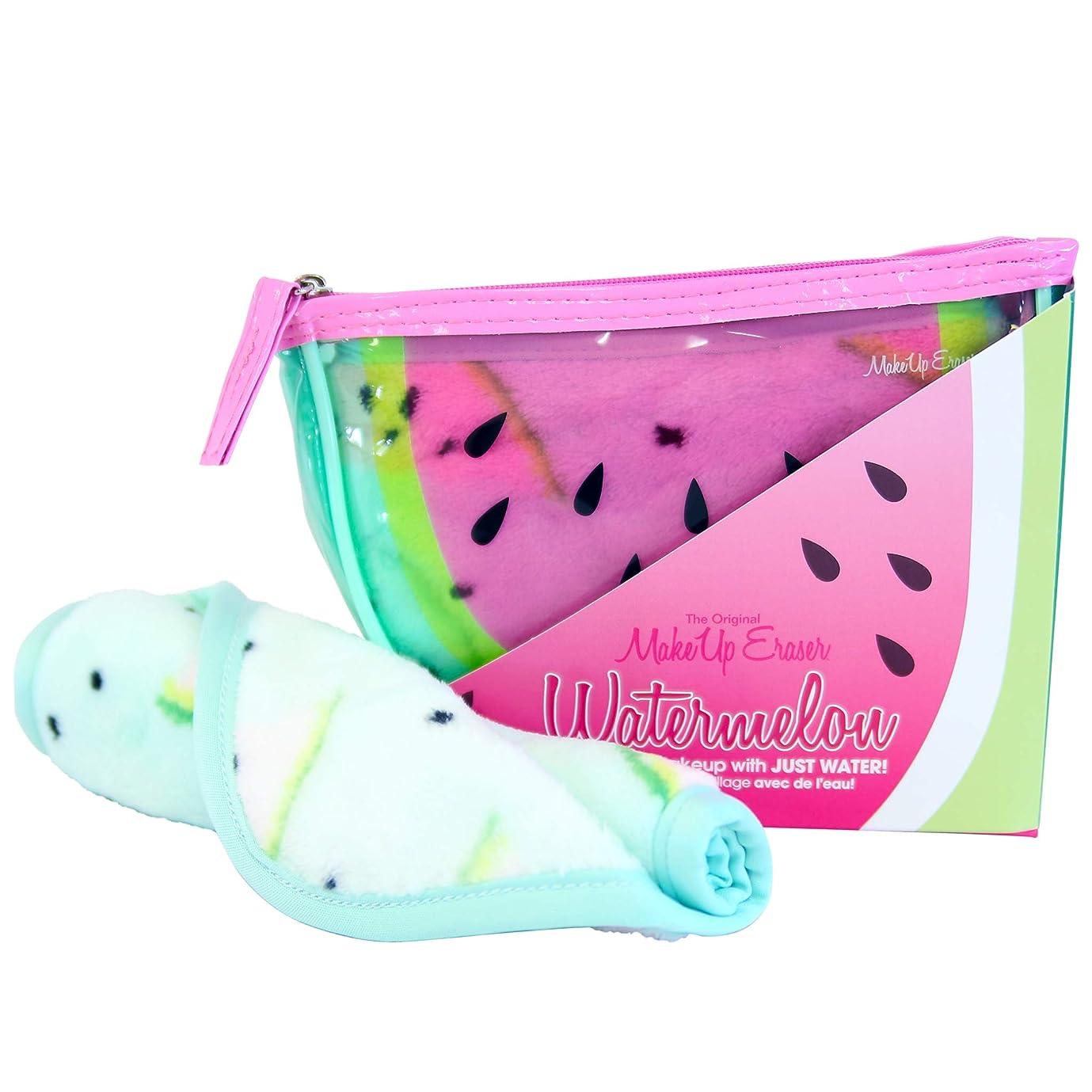 密接にラダ非効率的なMAKE UP ERASER メイクアップイレイサー 化粧落としタオル Watermelon