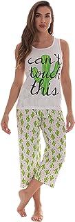 Just Love - Pijama de algodón 100% para mujer, pijama