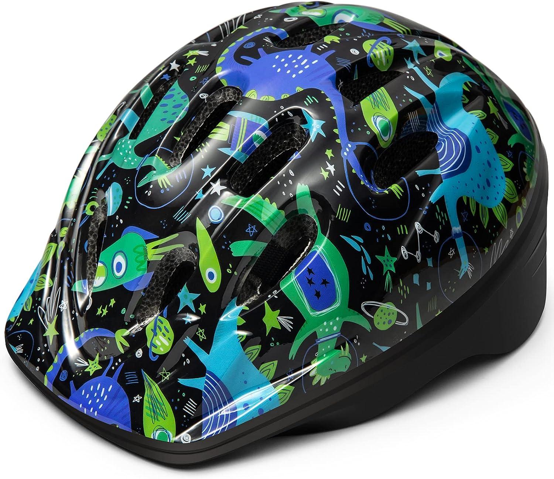 OutdoorMaster Toddler Kids Bike Helmet Cheap mail order specialty store Adj Multi-Sport Nashville-Davidson Mall Sizes - 2