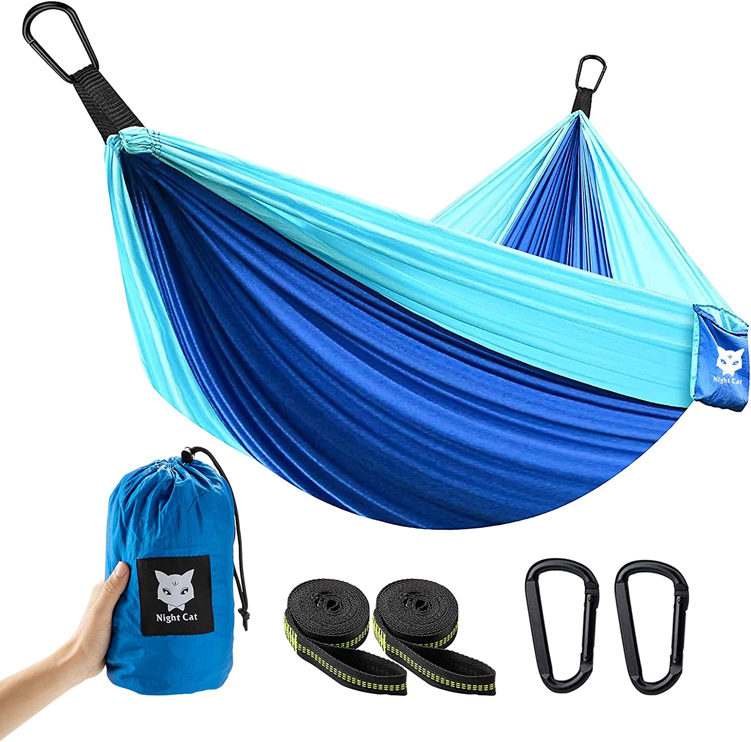 Night Cat Camping Hammock for 1 to or Persons Single New York Mall 2 Choice Po Double