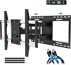 "Mounting Dream TV Mount with Sliding Design for 42-70 Inch TVs, Easy for TV Centering on Wall, Full Motion TV Wall Mount Fits Most Smart OLED TVs - Easy to Install on 16""~ 24"" Studs, Extend to 19"""