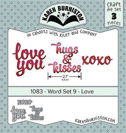Love Karen Burniston Dies-word Set 9