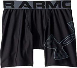 Armour HeatGear® Fitted Shorts (Big Kids)