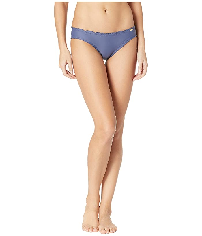 Luli Fama Cosita Buena Full Ruched Back Bikini Bottom (Azulejo) Women