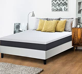 Olee Sleep 10 Inch EOS Multi Layer Gel Infused Memory Foam Mattress, 10FM05Q