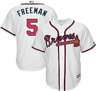 freddie freeman red jersey