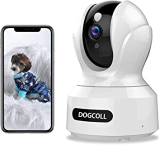 Sponsored Ad - [New 2020]DOGCOOL FHD Pet Camera Dog Camera 360° WIFI Pet Monitor Indoor Home Cat Cam with Alexa,Sound Dete...