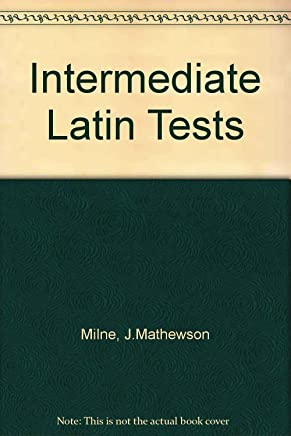Intermediate Latin Tests