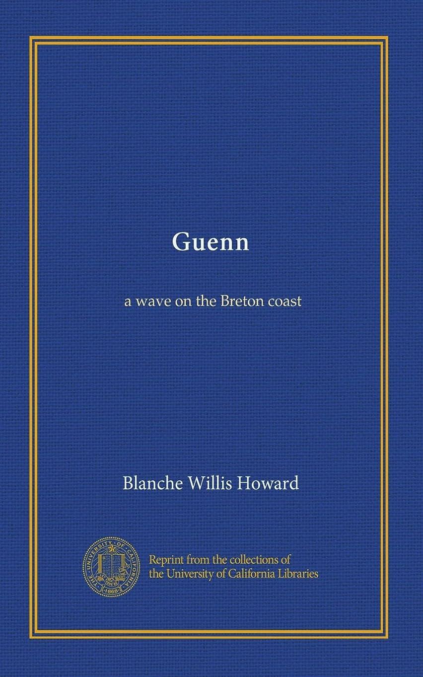 モルヒネ器官選出するGuenn: a wave on the Breton coast
