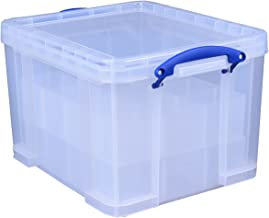 Really Useful Storage Box 35 Litre with 2xLg Divider Ref 35C+2xDIV
