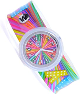 Watchitude Plunge Proof Slap Watch - Candy Camp - Kids Watch for Boys & Girls