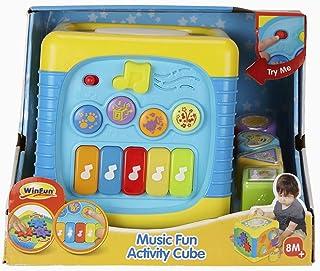 Win Fun 741-NL Musical EduCube