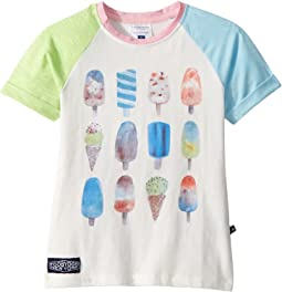Pink and Blue Popsicle Tee (Toddler/Little Kids/Big Kids)