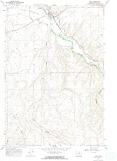 YellowMaps Echo OR topo map, 1:24000 Scale, 7.5 X 7.5 Minute, Historical, 1968, Updated 1970, 26.8 x 22 in