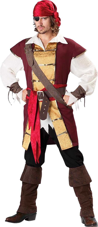InCharacter Costumes favorite LLC Men's Mail order Swashbuckler Costume Waist with