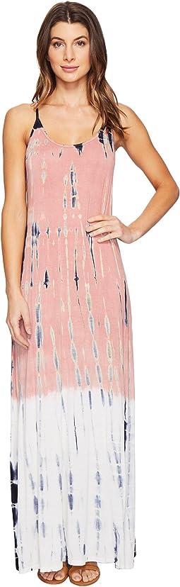 Culture Phit - Erryka Spaghetti Strap Tie-Dye Dress