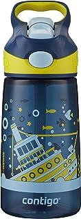 Contigo 康迪克 AUTOSPOUT儿童吸管水杯 14oz(414毫升)Nautical Sunken Ship 海外卖家直邮