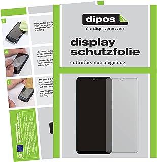 dipos I 2 x skyddsfilm matt kompatibel med ZTE Blade A51 lite skyddsfilm skärmskydd (medvetet mindre än glaset eftersom de...