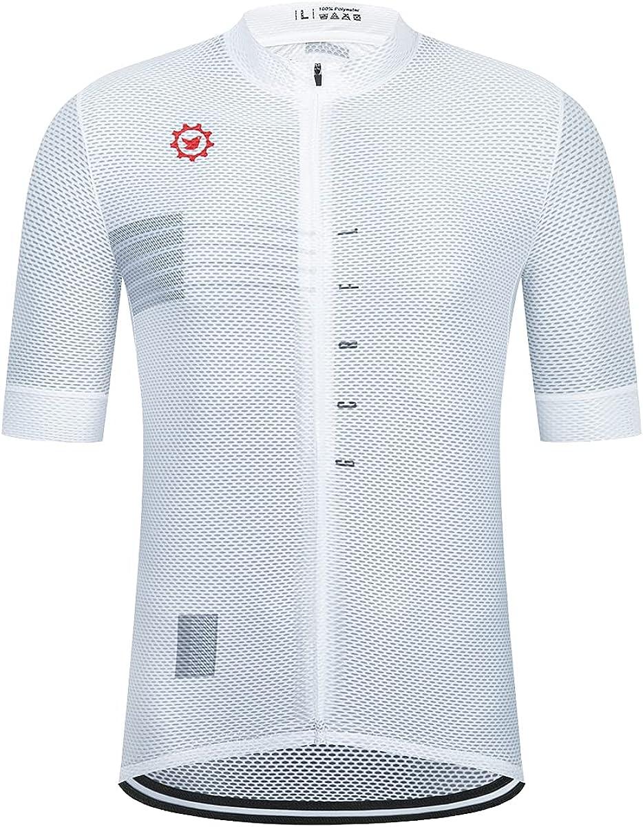 GCRFL Men's Cycling Jersey Short Shir Sleeves Same Easy-to-use day shipping Biking Bike