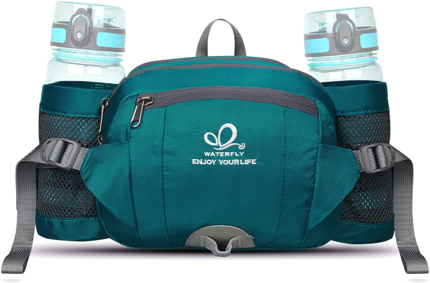 WATERFLY Fanny Pack with Water Cheap Holder Hiking Packs Ranking TOP20 Waist Bottle