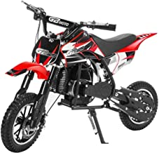 Superrio 49CC 2-Stroke Gas Power Mini Dirt Bike Dirt Off Road Motorcycle (Red)