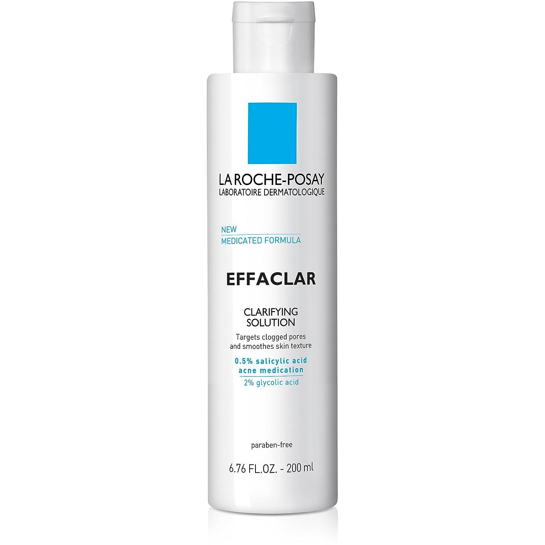 La Roche-Posay Effaclar Clarifying Solution Acne Toner with Salicylic Acid