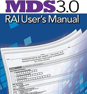 MDS 3.0 RAI User's Manual (October 2014 Update)