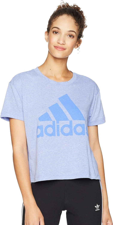 Adidas Women's Boxy Badge of Sport TShirt