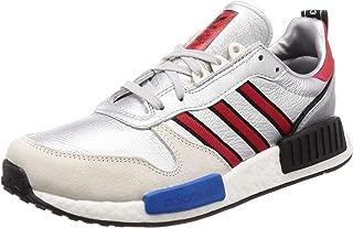 RisingStarxR1 Mens Running Trainers Sneakers (UK 9 US 9.5 EU 43 1/3, Blue red Silver Metallic G26777)