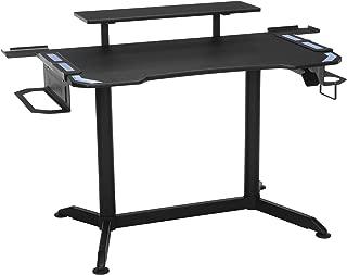 RESPAWN 3010 Gaming Computer Desk - Ergonomic Height Adjustable Gaming Desk, in Blue