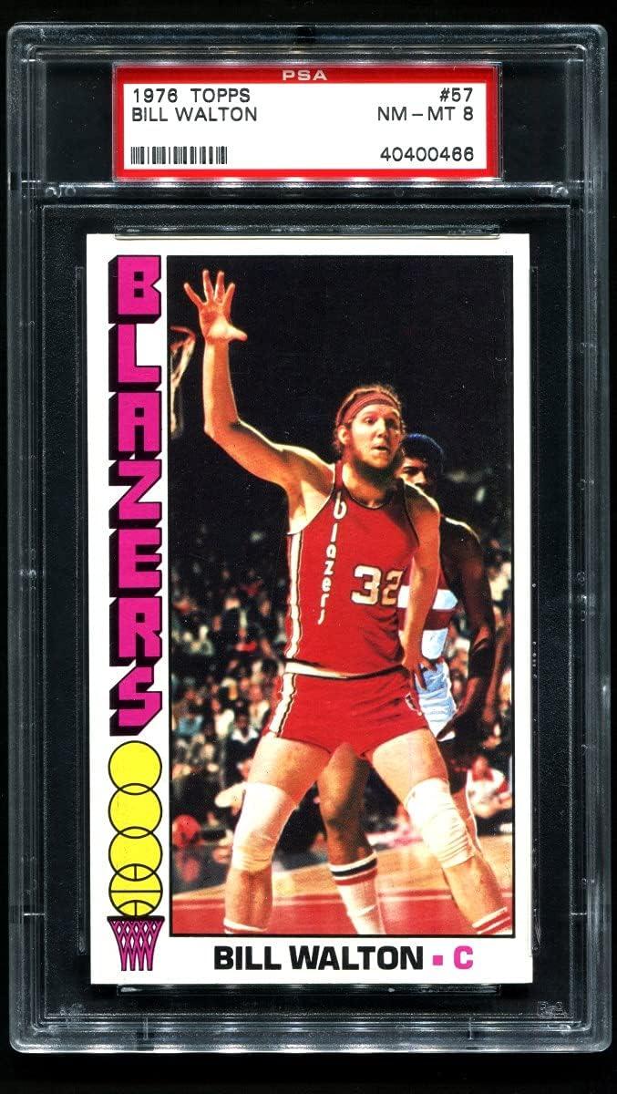 1976 Topps # 57 Bill Walton C Trail Popular overseas Basketball Max 54% OFF Portland Blazers
