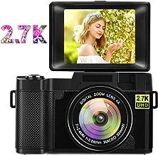 Digital Camera Vlogging Camera,24MP Full HD 2.7K 25FPS...