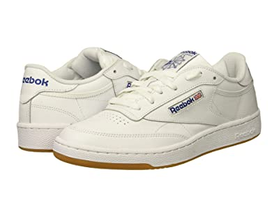 Reebok Lifestyle Club C 85 (Int/White/Royal/Gum) Men