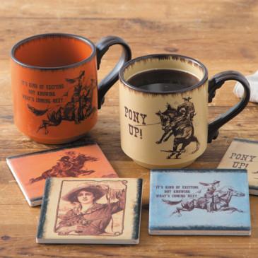 Old West Mugs
