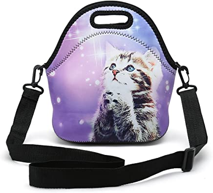 a40953c33cb5 Amazon.com: The wish cat - Lunch Bags / Travel & To-Go Food ...