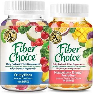 Fiber Choice Prebiotic Fiber Gummies, #1 Gastroenterologist Recommendedⱡ, Helps Support Regularity*, Prebiotic Fiber Helps...