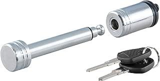 CURT 23501 Trailer Hitch Lock, 1/2-Inch Pin Diameter, Fits 1-1/4-Inch Receiver