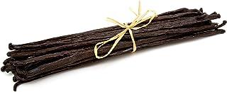 Strongus Madagascar Vanilla Beans - Vacuum Sealed Grade B Vanilla Pods - Rich, Creamy Flavor & Aroma -Great for for Bakin...