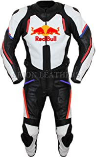 Motorcycle Leather Suit Biker Jacket and Trouser redbull set wholesale Prices (S)
