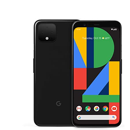 Google Pixel 4 - Just Black - 128GB - Unlocked