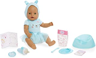 Baby Born Interactive Doll – Green Eyes with 9 Ways to Nurture