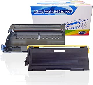Inktoneram Compatible Toner Cartridge & Drum Replacement for Brother TN350 DR350 DR-350 TN-350 DCP-7020 IntelliFax 2820 2910 2920 MFC-7220 MFC-7225N MFC-7820N MFC-7420 HL-2030 HL-2040 (DR,TN,2PK)
