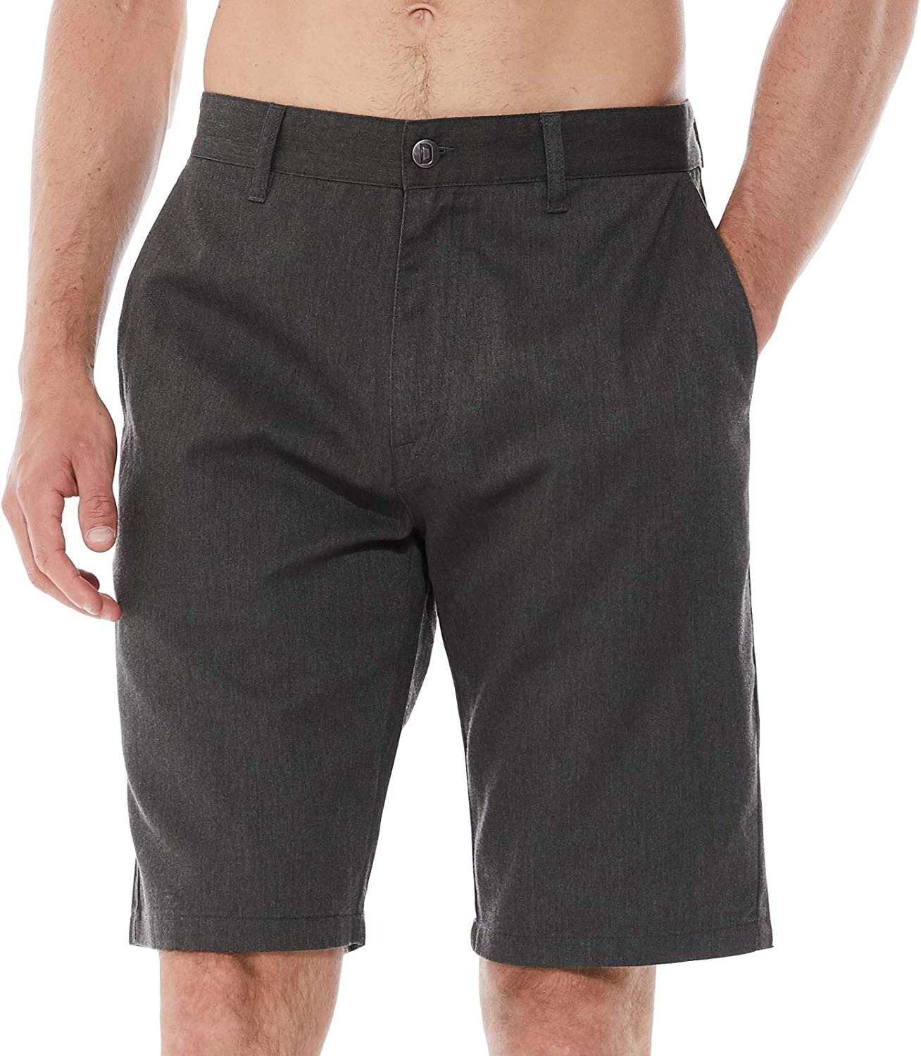 DINOGREY Relaxed Fit Outlet ☆ Free Shipping Max 57% OFF Men's Chino Front Flat Shorts Zip with