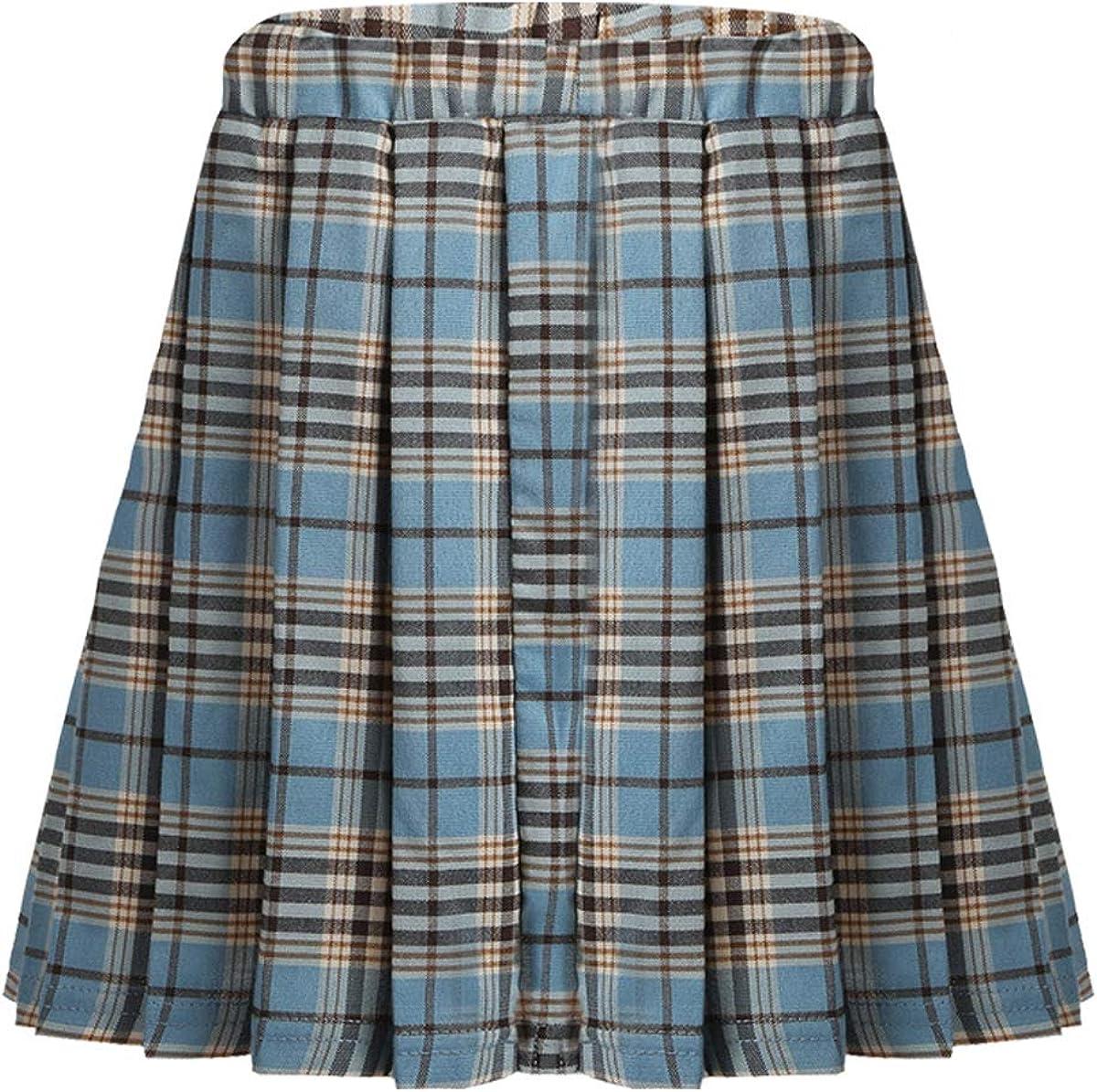 Freebily Kids Girls Classical School Skirts Tennis Bombing free shipping Uniforms Clearance SALE Limited time A-Li