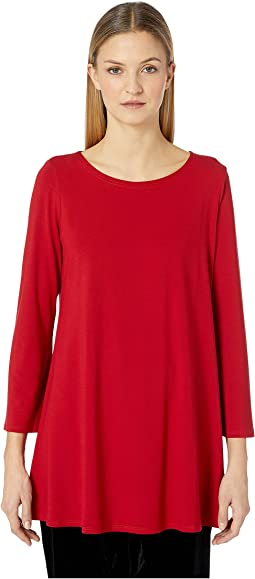 Ballet Neck Wide Sleeve Tunic
