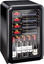 Jazz By Wine Enthusiast 36-Bottle Wine Cooler (Matte Black)
