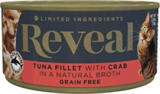 Reveal – Grain Free | Wet Canned Cat Food | 2.47oz Cans – Premium Nutrition,..