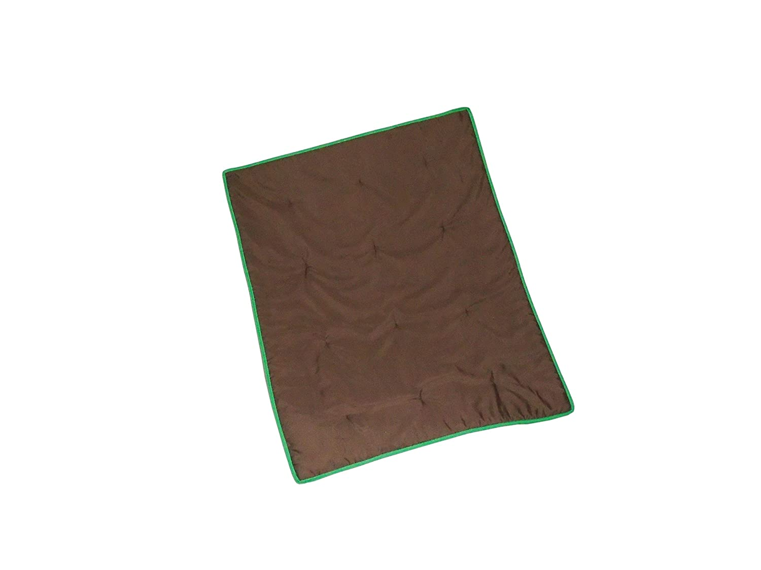 Baby DollBedding Solid Reversible Low price Crib Brown Max 51% OFF Green Comforter